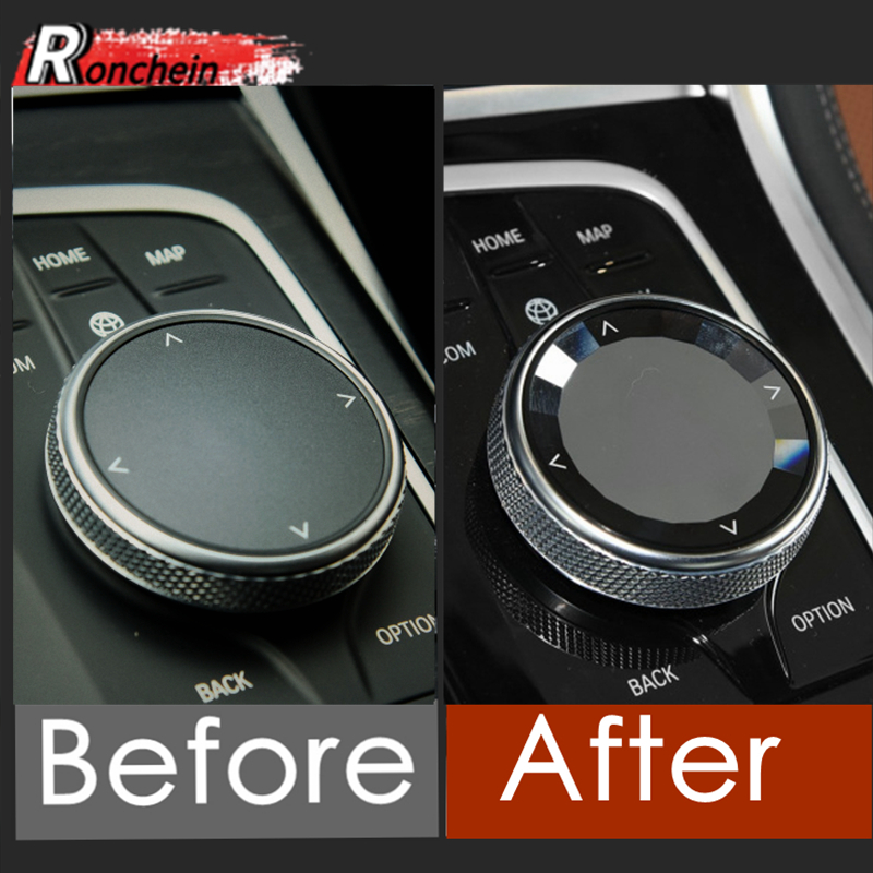 RONCHEIN BMW мультимедийная ручка IDrive сменная КРЫШКА ДЛЯ BMW 1 3 4 серии G20 G28 G29 X3 X4 G01 G02 G08 Z4 интерьерные аксессуары