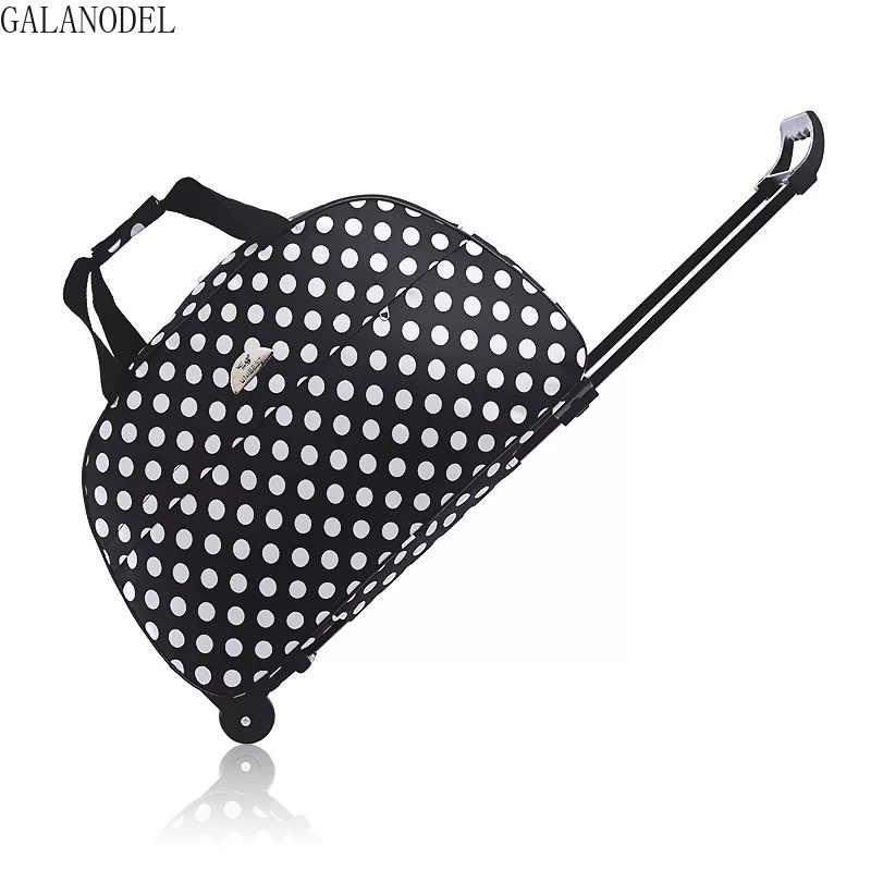 Moda 24 thick thick densamente estilo rolando mala à prova dwaterproof água mala de bagagem trolley bagagem feminina e masculina mala de viagem com rodas