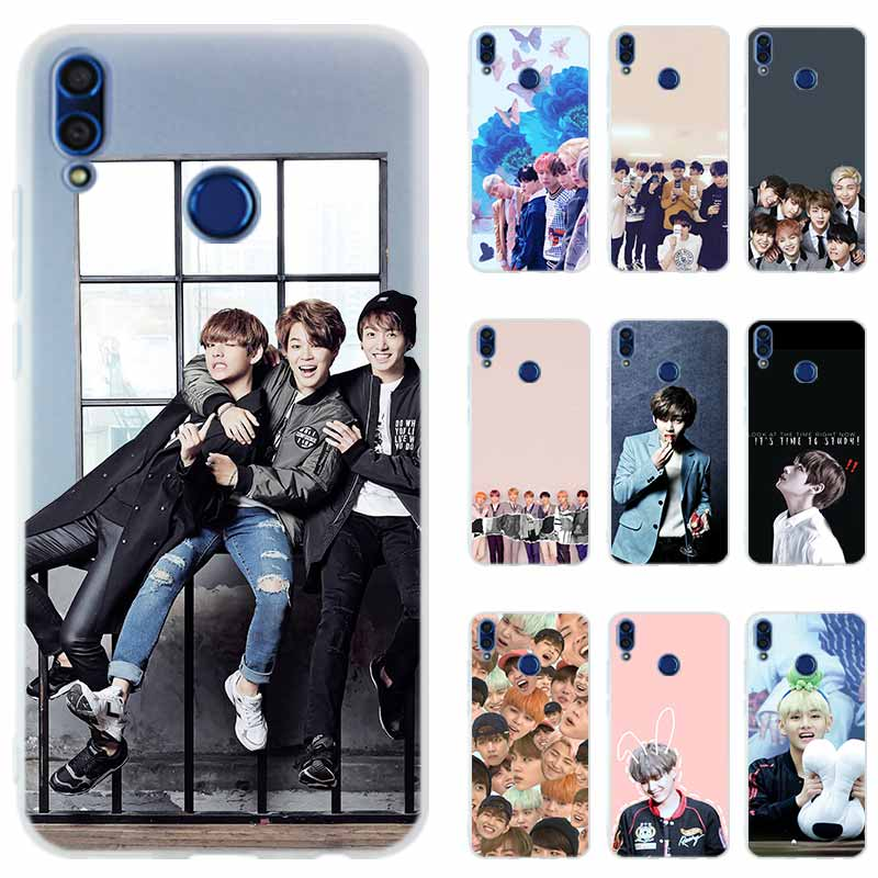 Silicone Phone Case Cover For Huawei Honor 9 10 Lite 6 7 9 X 8X Max 7a Pro 8a 9a V20 PLAY 10i 20 Hot Kpop Bangtan Boys Shell
