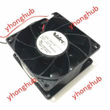 Free Shipping For Nidec V35132-16F DC 24V 0.45A, 80x80x38mm 2-wire Server Square Cooling Fan free shipping for adda aa1282ub at ac 220 240v 0 17 0 13a 50 50hz 2 piece 120x120x38mm server square cooling fan free shipping