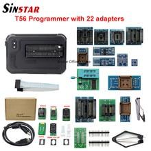 XGecu programmateur T56, pilote 56 broches, Support ISP 21000 + avec 22 adaptateurs