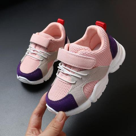 Spring New Children Shoes Fashion Kids Soft Bottom PU Leather Sport Sneakers Baby Autumn Breathable Toddler Shoes boy shoes Multan