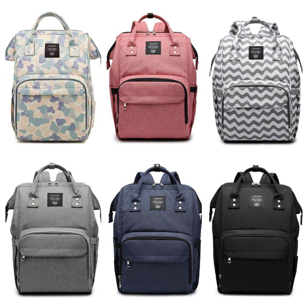 Multi-function Diaper Bag Fashion Large Capacity Handbag Backpack Portable Nursing Diaper Bag Maternity Bags Mommy Nappy Bag