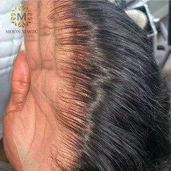 Прозрачные кружевные парики, Короткие парики из человеческих волос, невидимые передние парики для волос 13x6