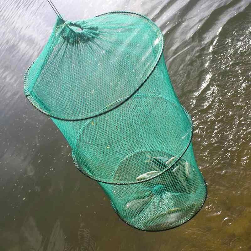 Dongzhur Kleine Mesh Nylon Dip Fisch Net Karpfen Angeln Fising Werkzeug Angeln Falle Netzwerk Netze Tackle Dropship Krebse F7L2