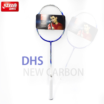 цена на DHS New Full Carbon One Badminton Racket To Send The Ball Offensive Type Badminton Racquet Durable Badminton Racket