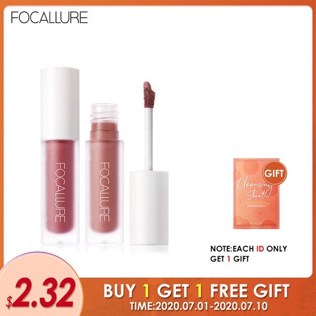FOCALLURE Staymax Matte Liquid Lipstick Lip Makeup Long Lasting Kissproof Nourish Lip Tint Lightweight formula Liquid Lipstick 1