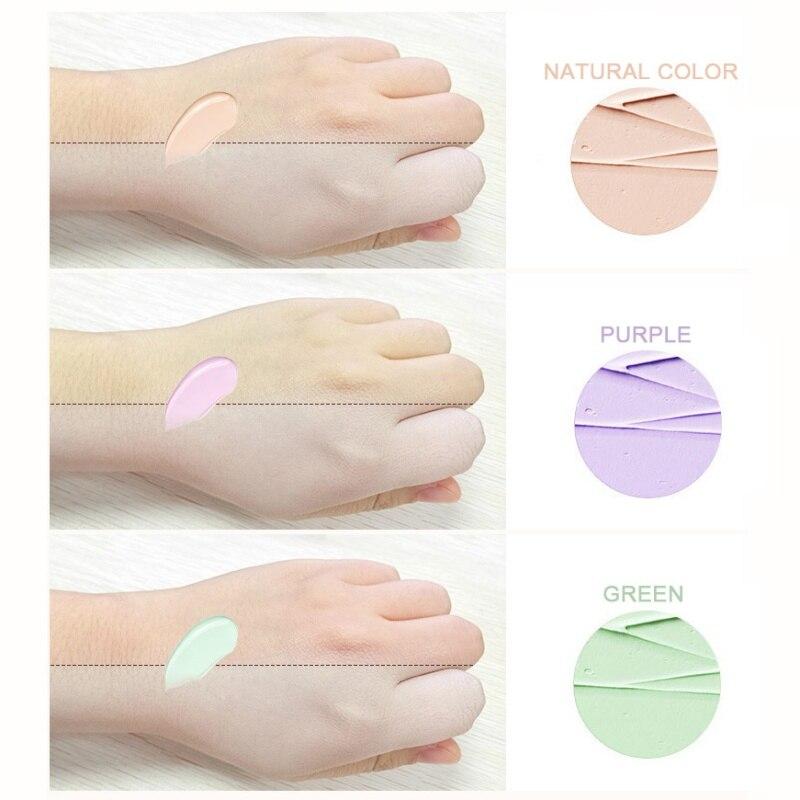 Valentine's Day Makeup Isolation Primer Makeup Corrector Cream  Base Foundation Dark Skin Eye Circles Redness Purple Green