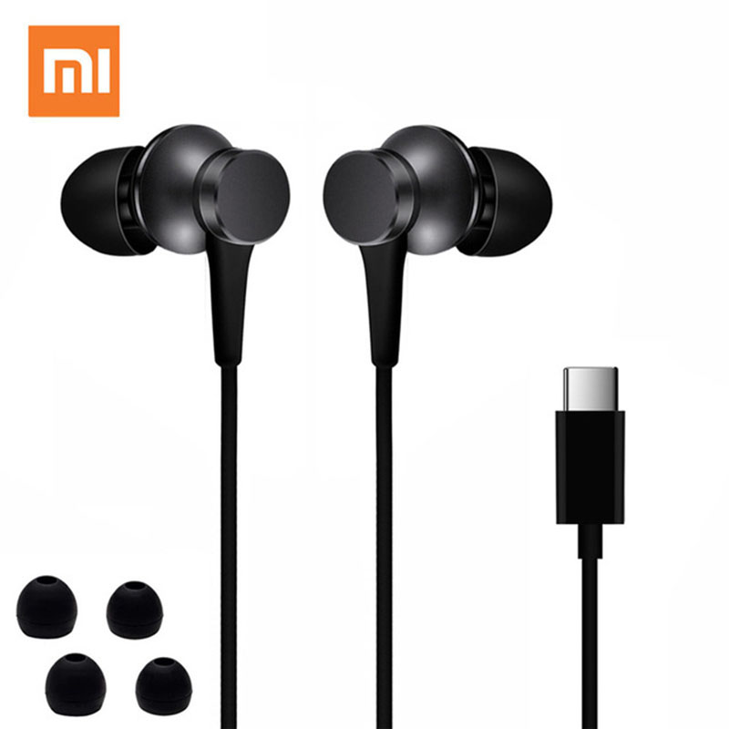 Xiaomi Piston 3 Fresh Edition USB TYPE-C In-Ear Earphone HandsFree/Mic Stereo Earbuds For Mi 6 8 9 Pro 10 Mix 2 3 2S