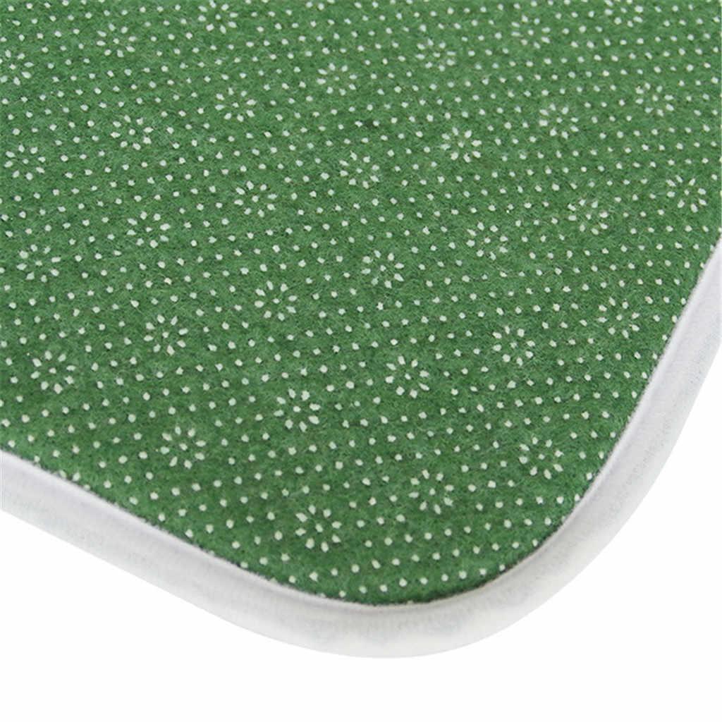 Terbaik Jual 2019 Produk Ruang Makan Karpet Kamar Shaggy Lembut Area Rug Kamar Tidur Persegi Panjang Lantai Mat 50X120 Cm Dukungan dropshipping