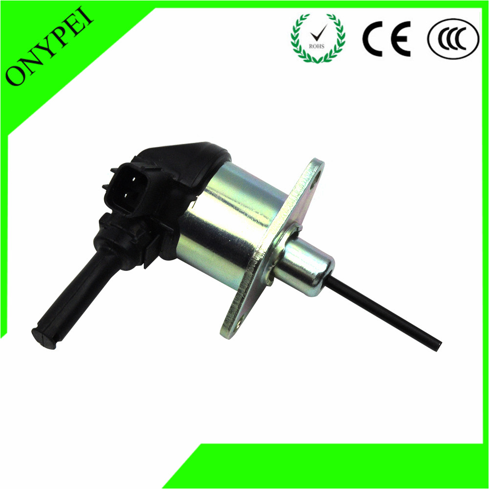 1A021-60017 Fuel Shut Off Solenoid For Kubota D1503 D1703 D1803 Tractor 1A021 60017 1A02160017