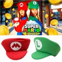 Sombrero de béisbol con Super Mario Cosplay de Luigi Bros para niños y adultos, gorra de béisbol con sombrero de cúpula, accesorios de Cosplay