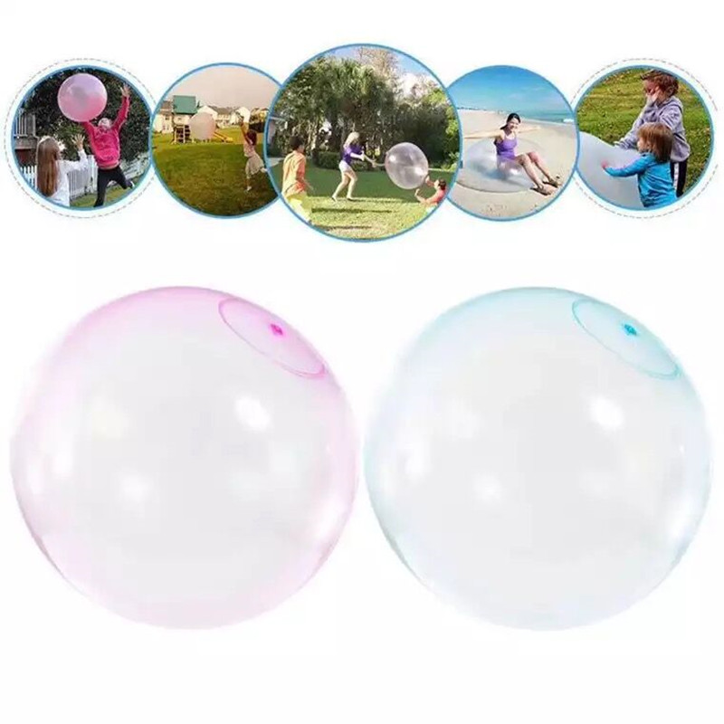 Amazing Bubble Ball XL Magic Bubble Ballon Kids Big Bubble Ball Magic Balloon