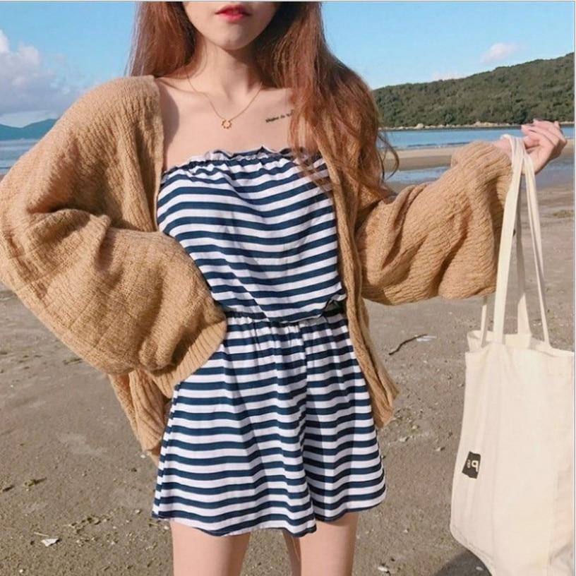 Kaguster Knitted Cardigan women's plus size Summer cardigan Sweater women's Loose Hollow coat kardigan Sweter Cardigans korean top 2