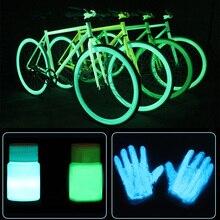 Glow In The Dark Acryl Kühle Helle Pigment Party Körper Dekoration Diy Handwerk Leucht Körper Farbe Wasserdichte 2021hot Mode