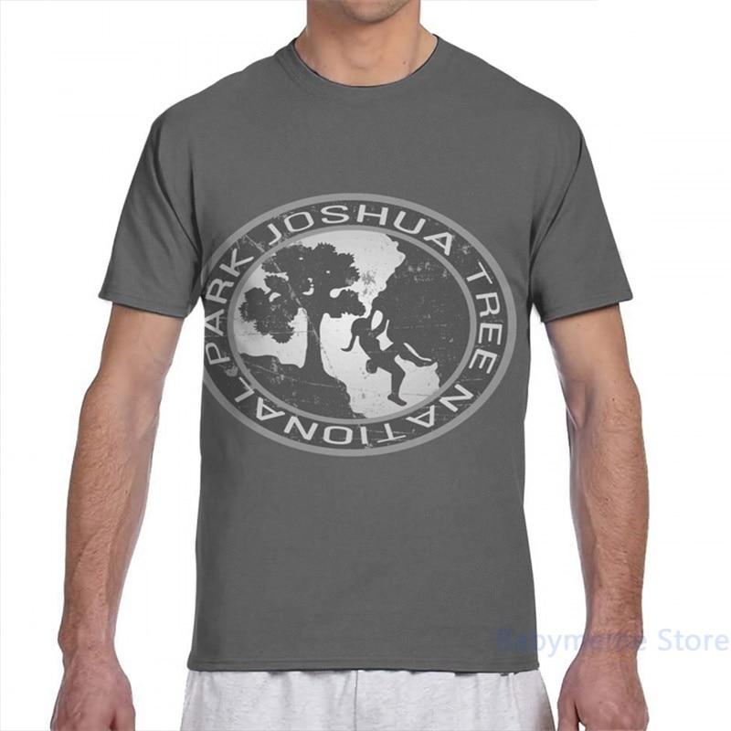 Национальный парк Джошуа Мужская футболка для женщин со сплошным принтом Модная футболка для девочек, топы, футболки для мальчиков футболк...