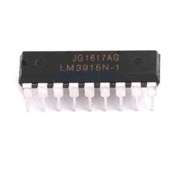 10 pçs/lote LM3915N-1 dip18 LM3915-1 dip lm3915n lm3915 dip-18 novo e original ic em estoque