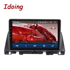 Image 4 - Idoing Radio Multimedia con GPS para coche, Radio con reproductor, Android GPS para coche, 10,2 pulgadas, navegador, no 2 din, DVD, para Kia K5 Optima 3 TF 2003 2012