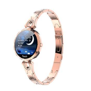 AK15 Smart Watch Women Bracelet Heart Rate Monitoring IP67 Waterproof Fitness Tracker Ladies Watches for Xiaomi Iphone