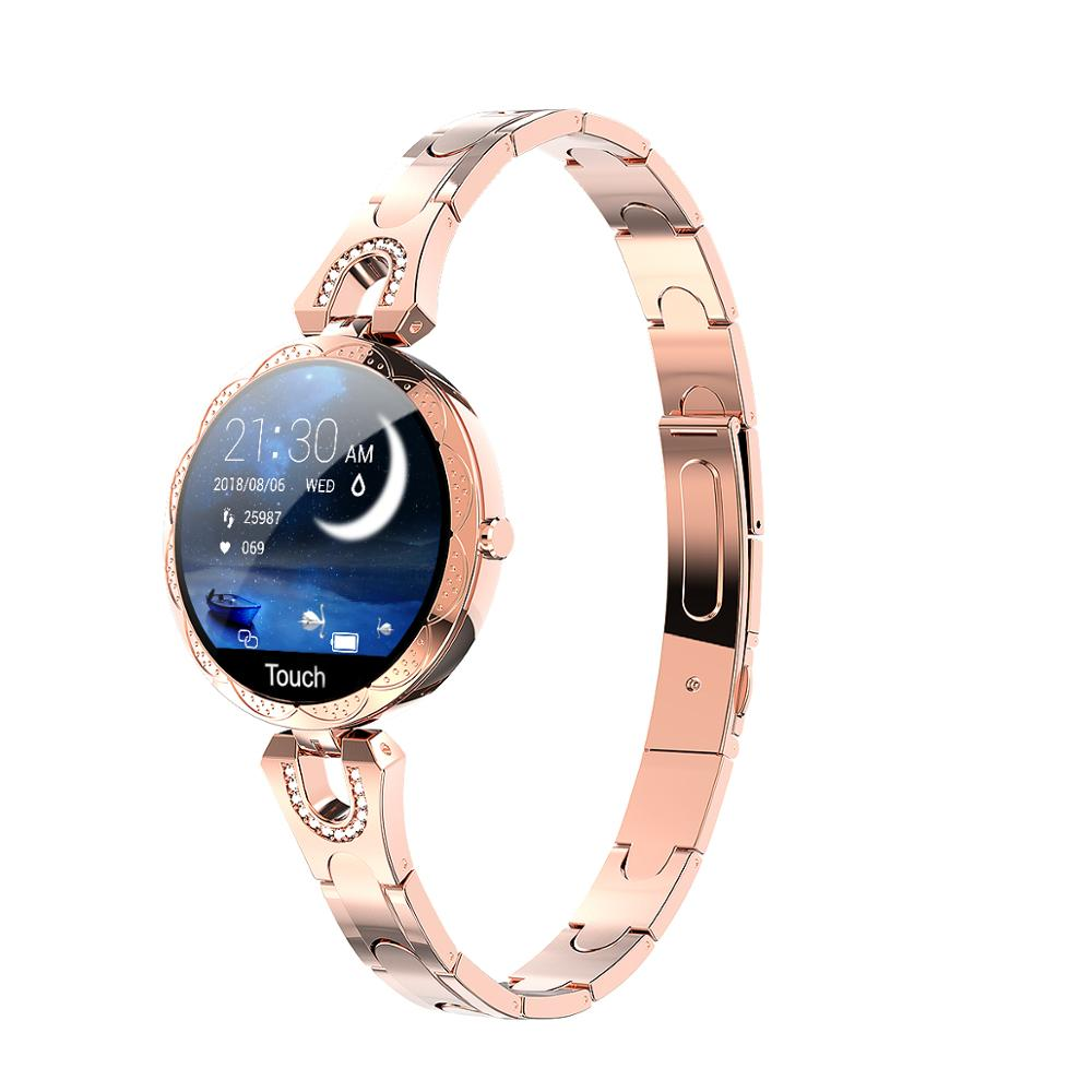 Smart Watch Women Bracelet Heart Rate Monitoring IP67 Waterproof Fitness Tracker Ladies Watches For Xiaomi Iphone Fashion Women