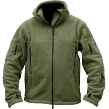 Jacket Men Military Tactics Autumn Sportswear Hoodie Softshell Fleece Us-Army Warm Leisure