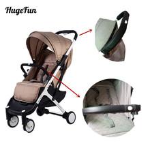 2pcs/set Pram Stroller Handle Leather yoyaplus Baby Stroller Armrest Protective Case Armrest Covers Baby Stroller Accessories