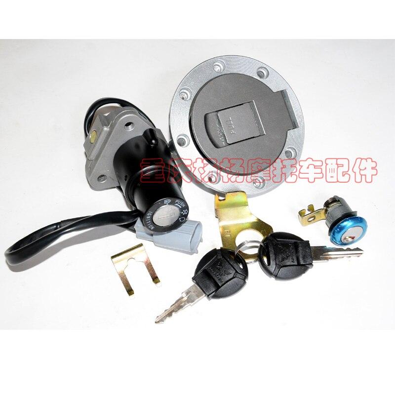 250cc Zongshen  ZS250GY RX3 Key Switch Ignition Lock Fuel Cap Dirtbike Motorbike Dirt Bikemotorcycle Accessories Free Shipping