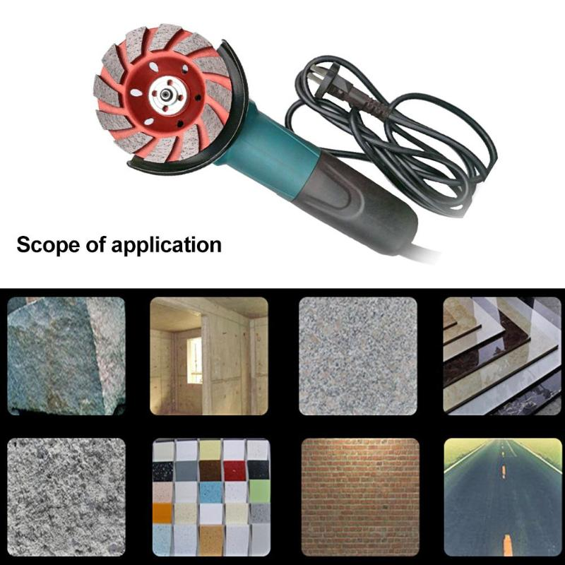 Diamond Wet Polishing Wheel Granite Marble Concrete Diamond Abrasive Pad Discs Processing Objects Stone And Concrete