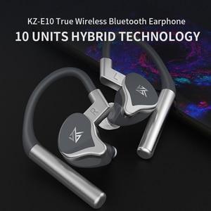 Image 5 - KZ E10 TWS 1DD+4BA Hybrid Drivers Bluetooth Earphone Aptx/AAC/SBC Apt x V5.0 Bluetooth Headset QCC3020 Noise Cancelling Earbud