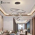 Luz colgante Led moderna de alta calidad para una gran sala de estar Comedor Cocina Hotel lámpara colgante de techo lámpara colgante Luminare