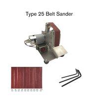 Aletler'ten Zımpara cihazı'de Çok fonksiyonlu Değirmeni Mini elektrikli kemer Zımpara Parlatma Taşlama Makinesi Kesici Kenarları Kalemtıraş Kemer Öğütücü Zımpara Satış