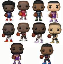 Jogador de basquete michael jordan james harden vinil figura coleção modelo brinquedos
