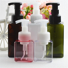 250/450ml  Foaming Soap Pump Shampoo Dispenser Lotion Liquid Bathroom Foam Container Bottle Hand