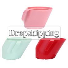Детские изоляционные косой рот чашки герметичные детские обучения питьевой чашки барабанные устойчивые Детские питьевые чашки для детей