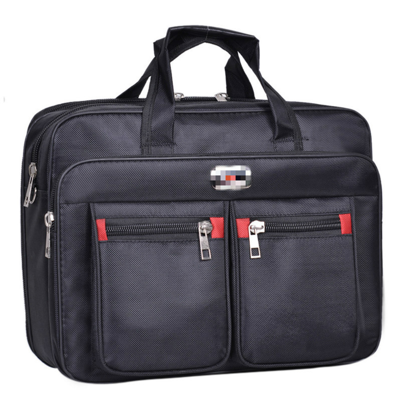 1PCS  Computer Bag Multi Function Men's Business 15.6 Inch Computer Bag Quality Nylon Portable Men's Bag Briefcase