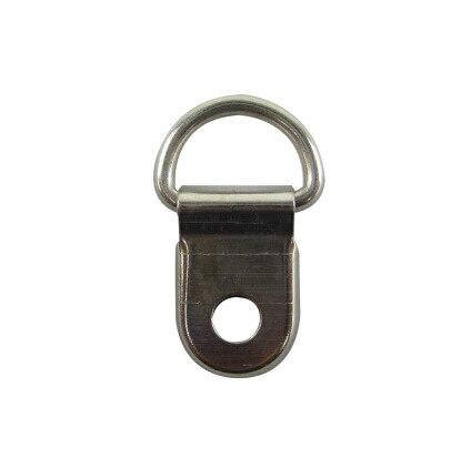 Manufacturers Wholesale Picture Frame Hook Cross Stitch Hook Gua Hua Gou Silver Small Semi-Hook Photo Frame Accessories