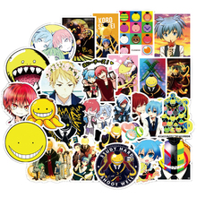 50Pcs Japan Anime Assassination Classroom Graffiti Cartoon Stickers For Luggage Laptop Skateboard Bicycle Decal Pegatina F3