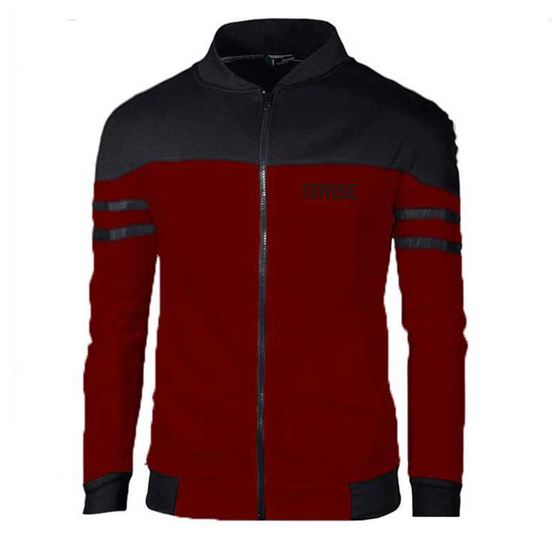 Men's Jackets Coats Autumn Winter Business Casual Zipper Men Outerwear Male Rise Clothing Sportswear Patchwork Plus Size 4XL