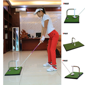 PGM Indoor Golf Putting Trainer 360 ° Rotation Golf Practice Putting Mat Golf Putter Green Trainer New Arrival