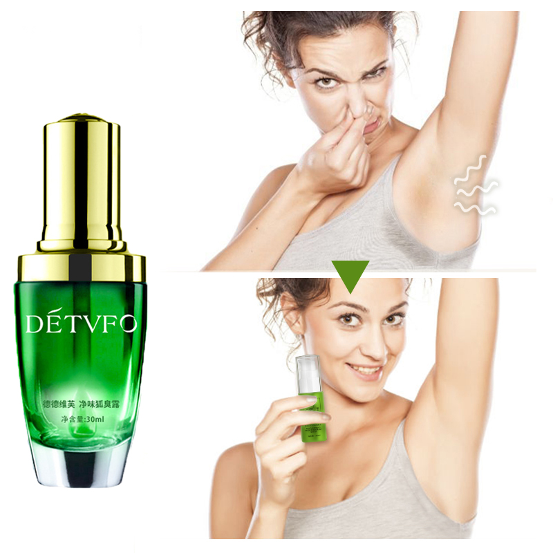 30ml Body Odor Antiperspirant Ladies Fragrance Unisex Armpit Sweat Cleaning Lotion Deodorant Antiperspirants Perfume Feminino