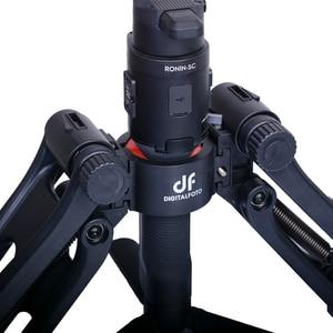 Image 3 - DH04 PRO Dual Griff Stabilisator 3 achsen Gimbal Frühling 4,5 kg bär mit strap für RONIN S/SC WEEBILL S & LABOR KRAN 3/3S Moza Air 2
