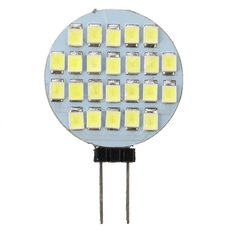 חם XD-12V 24 SMD LED G4 בסיס לבן Camper הימי אור הנורה