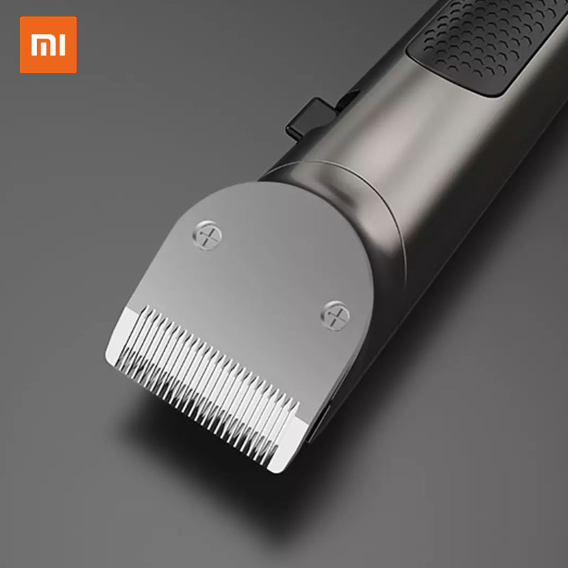 2020 New Xiaomi RIWA Personal Electric Hair Trimmer Clipper Rechargeable Strong Power Steel Cutter Head With LED Screen Washable 3
