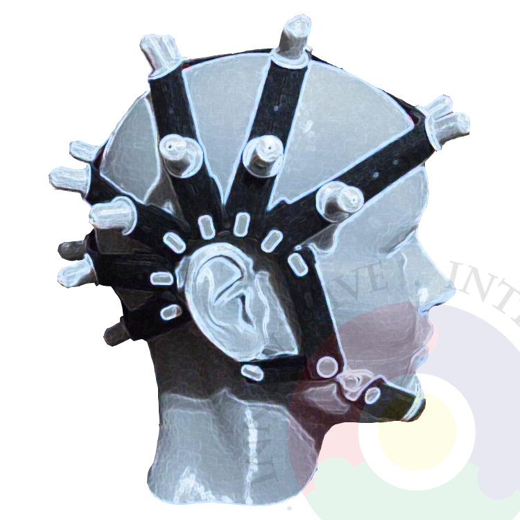 New Brain Cap, Full Dry Electrode, Compatible With OpenBCI Ultracortex_Mark Series Brain Cap