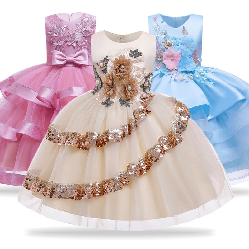 criancas vestidos para meninas elegante princesa vestido de casamento criancas do vintage vestido de festa de