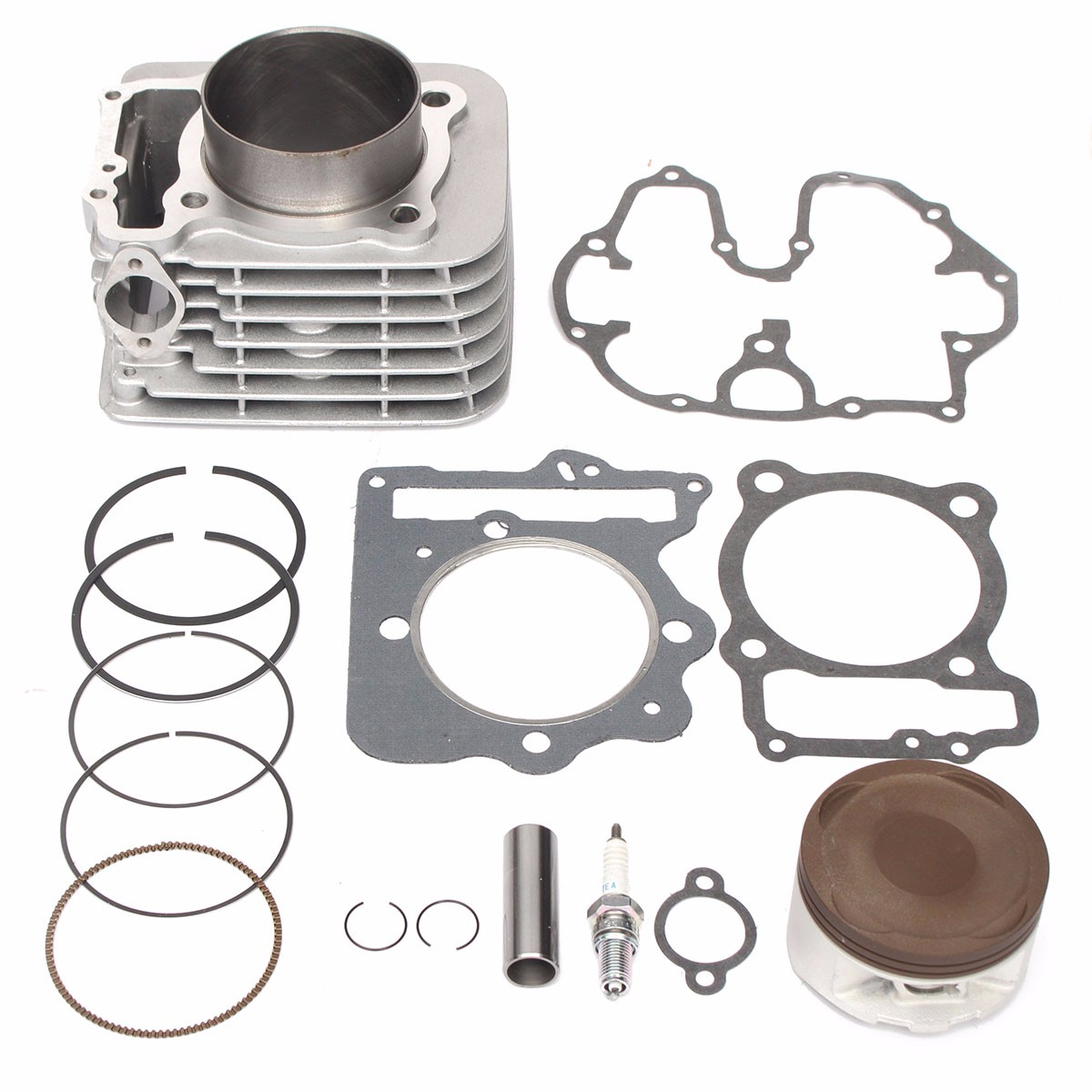 Cylinder Piston Gasket Top End Kit For Honda XR400R 1996 2004 TRX400EX 1999 2014 12100 KCY 670 13101 KCY 670|Block & Parts| |  - title=