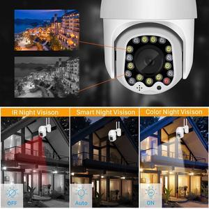 Image 5 - BESDER חיצוני תנועה התראת 2MP IP מצלמה WiFi 4X דיגיטלי זום כפולה אנטנה מהירות כיפת מצלמה עם סירנה אור ענן אחסון