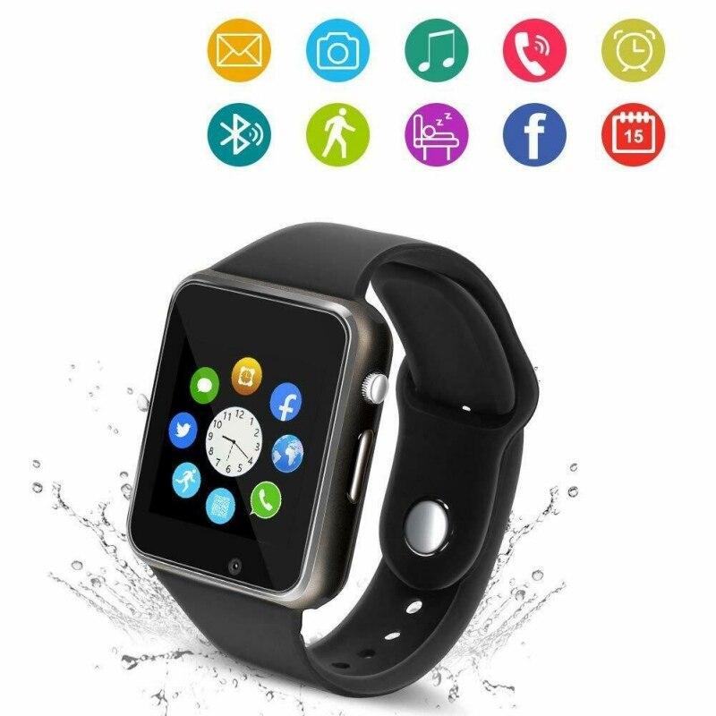 Tüketici Elektroniği'ten Akıllı Saatler'de Greatlizard Plug in kart akıllı saat spor izle popüler moda son yüksek teknoloji renkli anti kayıp smartwatch title=