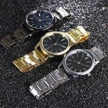 DUOBLA watch men luxury quartz wristwatches fashion stainless steel strap band s