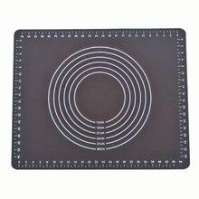 Коврик для выпечки коврик для теста инструменты для приготовления пищи черный кондитерский Противоскользящий силиконовый нетоксичный не палка аксессуары